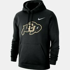 Colorado Buffaloes Mens Nike Team Club Hoodie Sweatshirt - XXL/XL/Large - NWT