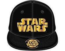 Official Licensed - STAR WARS - Dorado Logo Gorra Béisbol Ajustable JEDI VADER