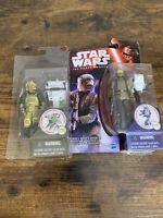 "Hasbro Star Wars The Force Awakens RESISTANCE TROOPER & GOSS TOOWERS 3.75"""