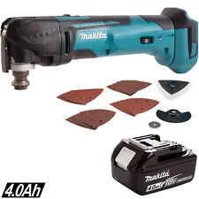 Makita DTM51ZJX7 18V Multi Tool With 23pc Accessory Kit With 1 x 4.0Ah Battery