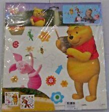 Winnie The Pooh Statua Adesivi da parete cameretta per Bambini Stanza Giochi