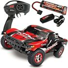 Traxxas 58034-1 Slash 2WD RTR Short Course Truck RED w/Battery & Quick Charger