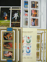 Burundi Stamps Mint NH Souvenir Sheets And Strips