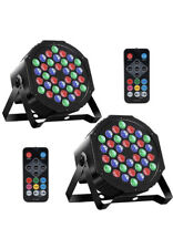 36 Led Rgb Stage Light Par-36 Flat Lamp Club Dj Disco Party Lighting