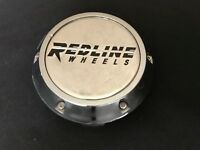 Redline Wheels Custom Wheel Center Cap Chrome Finish Machined Center C-8009