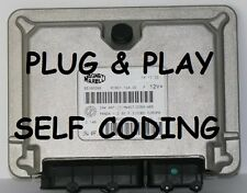 FIAT PANDA 1.1 8v ENGINE ECU IAW4AF .SM .SS .SP .S2 .SF - hw407 - SELF CODING
