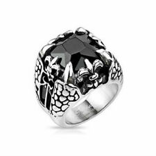 Diamond Stone Rings for Men