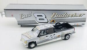 Dale Earnhardt Jr 2002 Chevrolet Crew Cab & show trailer Brookfield 1:24 *on top
