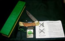 Puma 715 Lockback Knife Germany Stainless W/Tags, Original Packaging,Papers Rare