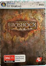 Bioshock - Tin / Steelbook - PC DVD - Game VGC - Complete