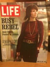 LIFE MAGAZINE- JANE FONDA - APRIL 23, 1971