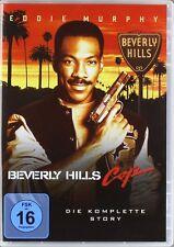 3 DVDs * BEVERLY HILLS COP 1 - 3 TRILOGIE ~ EDDIE MURPHY # NEU OVP +