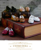 PU Leather Shoes 1/3 1/4 BJD Shoes Tasseled Loafers for Dollfie Doll AOD LUTS DZ