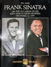 Tribuna The Offical Publication Of Caesars Palace Frank Sinatra 40th Dec 1979