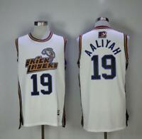 Aaliyah 19 Bricklayers Basketball Jersey White White Cheap Basketball Jersey