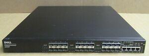 Dell PowerConnect 6224F 24 Port Gigabit SPF Switch