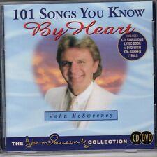 "JOHN McSWEENEY Sing-along DVD Bonus CD ""101 SONGS YOU KNOW BY HEART"" - REGION 4"