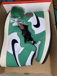Air Jordan 1 Retro High OG Lucky Green Size 7.5 (W)
