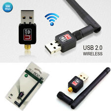 300Mbps USB WiFi Dongle Wireless LAN Adapter 802.11ac/a/b/g/n 5/2.4Ghz UK