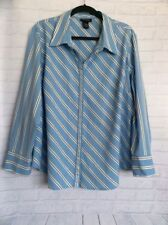 Nylon Career Plus Size Button Down Shirts for Women
