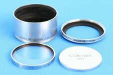 Canon Series VII Lens Hood 48mm w/Filter Cap *Exc+++* for 135mm F3.5 Leica LTM39