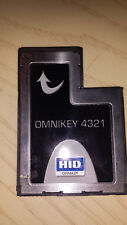 Smart card reader ExpressCard 54 HID OMNIKEY 4321 CAC common access military