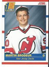 1990-91 Score MARTIN BRODEUR #439 Rookie New Jersey Devils First Round Draft