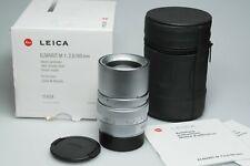 Leica Elmarit-M 90mm F2.8 E46 11808 Silver