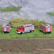 1:160 Spur N Bausatz Feuerwehr SW2000 Schlauchwagen Lemke Mini Mercedes LKW L322