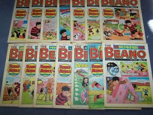 14 Beano Comics 1989 ~ 7,14,21,28/1, 4,11,18,25/2, 4,11,18,25/3, 1,8/4/89 (112)
