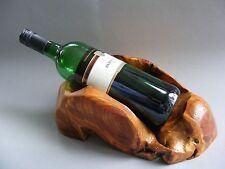 Weinständer Flaschenhalter Deko Möbel Objekt Holz Unikat