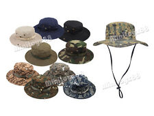 Boonie Fishing Hiking Boating Army Camo Bucket Outdoor Hat Unisex Cap