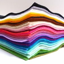 """12"""" Premium Wool Blend Felt SQUARE 40% wool 60 colours to choose from PER SQUARE"""