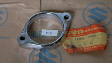 Suzuki TC125 TM125 RV125 TS185 Exhaust Muffler Pipe Clamp NOS 14182-28000