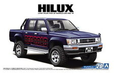 Aoshima Models 1/24 Toyota LN107 Hilux Pickup Double Cab 4WD 1994