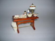 Reutter Porzellan Backtisch / Baking Table Puppenstube 1:12 Art. 1.865/4