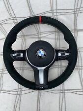 BMW f30 f31 F32 F34 f20 F21 F22 F23 F25 M Sport Alcantara steering wheel