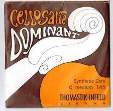 1 xThomastik-InfeldDOMINANT Cmedium 145 single CELLO string