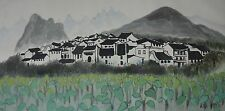 Excellent Chinese Scroll Painting By Wu Guanzhong  JP-005 吴冠中
