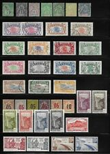 Collection of Old Stamps - Reunion . . . . . . . . (6 pages)