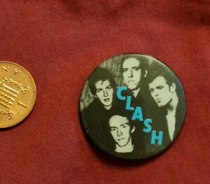 The Clash Badge Vintage Original 70s