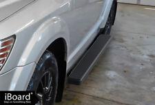 "5"" Black iBoard Running Boards Nerf Bars Fit 09-18 Dodge Journey"