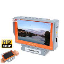 "Wrist 5"" Screen 1080P AHD CCTV Camera Monitor Tester Video Audio test 12V-Outpt"