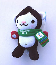 """Vancouver 2010 OLYMPIC 9.5"""" MIGA Plush MASCOT With RED MITTENS SCARF NEW W TAGS"""