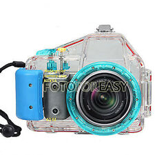 40M Waterproof Underwater Diving Dive Camera Case for Sony NEX-5 + 18 -55mm Lens