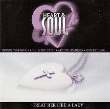 HEART & SOUL - TREAT HER LIKE A LADY / VARIOUS ARTISTS / CD - NEUWERTIG