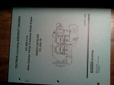 Lycoming engine parts catalog P/N PC-306-10 for a H0-360-C1A