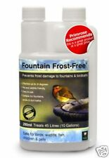 Frost Free De-icer For Birdbaths Fountains Ponds Water Features Easy Use