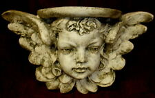 "17"" Victorian Antique Cherub Angel Bracket Shelf Eros Cupid Home Decor 22103"