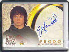 LOTR FOTR Fellowship of the Ring AUTO Frodo/Elijah Wood